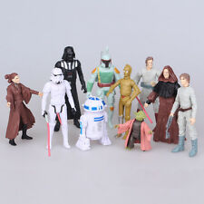 10pcs Cute Movie Star Wars Action Figures Doll Set To Collection Kids Toy Gift