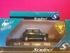 SOLIDO SUPERBE MINI COOPER 1969 NEUF EN BOITE 1/43 R3