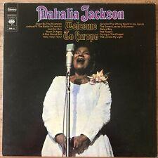 MAHALIA JACKSON - WELCOME TO EUROPE - LP