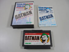 Famicom NES Dynamite Batman Boxed NTSC-J Tested 702f