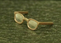 Brown glasses only from Hot toys 1/6 clark kent Superman HOTTOYS