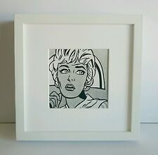 Roy Lichtenstein - ORIGINAL VINTAGE ART - 1969 Guggenheim Limited Edition Print