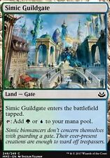 4x Cancello della Gilda Simic - Simic Guildgate MTG MAGIC MM3 English