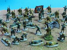 37 x Afrikakorps Rommel professionel painted (+ Flamethrower) in 1:72