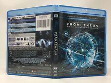 Prometheus Blu-ray/DVD, 2012, 4-Disc Set, Collectors Edition 3D Slipcover