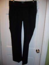 NWT Old Navy Maternity Size 8 Black Pants Cotton Blend