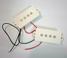 Bass Guitar Pickup White Cover NOS