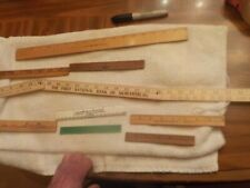 8 ASSORTED RULERS ASSORTED SIZES DESK TOP