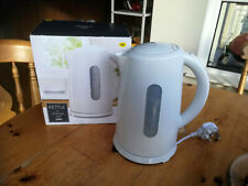 Tesco Electric Kettle 2.2 kW White Corded Used, clean and working