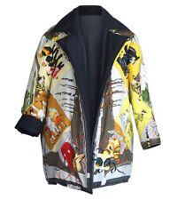 Hermes Jacket Le Carnavale de Venise Reversible Scarf Print Wadded Silk 36