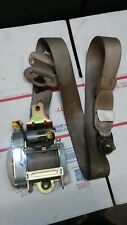 03-07 HONDA ACCORD FRONT DRIVER SEAT BELT SEATBELT 4DR LH SEDAN TAN 04 05 06 07