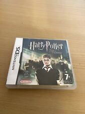 Nintendo DS Game Harry Potter And The Order Of The Phoenix + Booklet