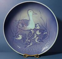 Bing and Grondahl Mothers Day Plate 1973 Duck & Ducklings