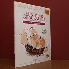 HISTOIRE GEOGRAPHIE CM1 Histoire des Arts Guide Pédagogique (Ateliers Hachette)