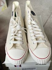 PF Flyers Center HI Reiss Men's Leather  NaturalClassic Basketball Shoe Athletic