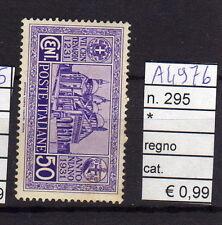 FRANCOBOLLI ITALIA REGNO LINGUELLATI* N°295 (A4976)