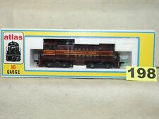 ATLAS HO SCALE #884 GULF, MOBILE & OHIO S-2 DIESEL LOCOMOTIVE NEW