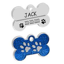 Custom Tag Personalized Dog Tag, Cat Tag, Dog Id Tag, Dog Collar, Dog Paws T3