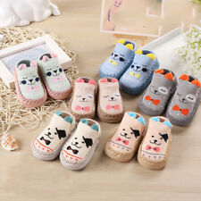 Baby Girls Boy Anti-slip Floor Socks Toddler Newborn Slippers Shoes 0-36 Months