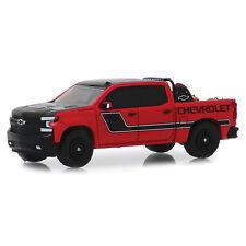2019 Red Chevy Silverado Safety Trukc Hobby Greenlight Diecast 1 64