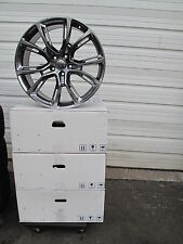 "22"" NEW JEEP GRAND CHEROKEE SRT8 STYLE SET OF FOUR HYPER GREY WHEELS RIMS 9113"