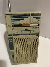 VINTAGE RADIO Phillips BANDS AM(MW)-FM-AIR-CRAFT-1960S-1980s