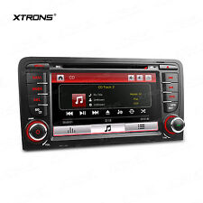 "Autoradio 7"" 2Din GPS Navigation DVD Player Bluetooth USB Für AUDI A3 2003-2012"