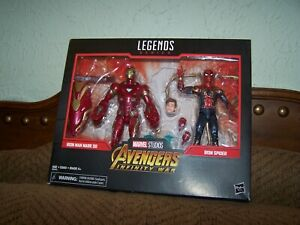 Marvel Legends Series IRON MAN MARK 50 & IRON SPIDER Avengers Infinity War NEW