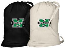 Marshall University Laundry Bags 2PC SET Marshall Clothes Bag w/ SHOULDER STRAP!