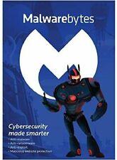 Malwarebytes Premium key - 1year, 1PC Operating system :Windows, Mac OS, Android