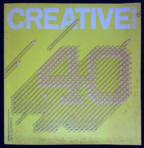 CREATIVE REVIEW 11/2002 BJORK Spike Jonze 40 YEARS OF D&AD Ben Drury Poster @VGC
