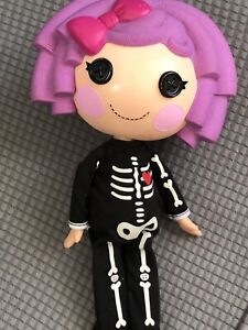 MGA Lalaloopsy Halloween Skeleton Pajamas With Doll