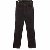 Levis Vintage Boys 719 Student Brown Corduroy Pants 29x34