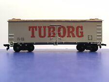 "HO Scale 40' ""Tuborg Beer"" Freight Train Box Car / Life-Like Brand"