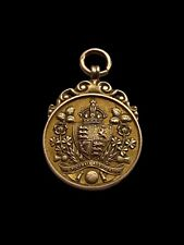More details for 9ct gold football medal. fa cup final 1933. manchester city vs everton