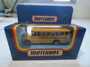 1987 MB-47 Matchbox – US School Bus - yellow - MIB
