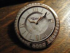 Chopard Pocket Mirror - Repurposed Magazine Diamond Watch Ad Lipstick Mirror