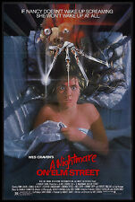 A Nightmare On Elm Street Movie Poster Horror 80's Vhs Art