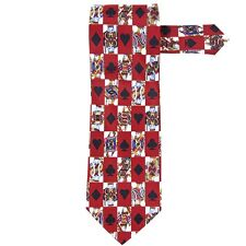Cards - King And Queen All Over Neck Tie