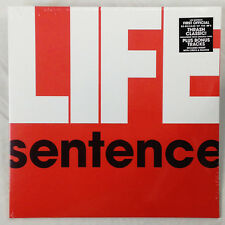Life Sentence-s/t LP - 1980's Chicago Hardcore Punk classic - RE w/ bonus tracks