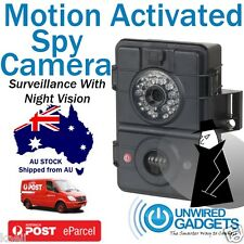HD SPY CAMERA MOTION ACTIVATED WITH IR FLASH NIGHT SURVEILLANCE SELF DEFENCE