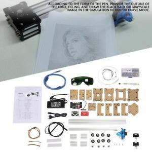 2 Achsen CNC XY Plotter Stift Zeichnung Maschine Roboter Zeichnung Pen DIY Kit