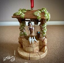 2017 Disney Snow White Wishing Well Sketchbook Ornament Limited Release NIB