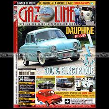 GAZOLINE N°183 SIMCA 1000 DAUPHINE BELL LABS GLAS S 1204 VOLVO 480 ES POSSATI