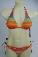 All About Eve Ladies Horizon Halter 2 Piece Bikini Set Swimwear Swimsuit size 10