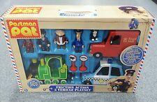 Postman Pat Friction Action 3 Vehicle Rocket Police Car Figures Playset Set
