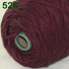 Sale New 400gr Cone Yarn Soft Cotton Super Bulky DIY Hand Knit Wrap Shawls 26