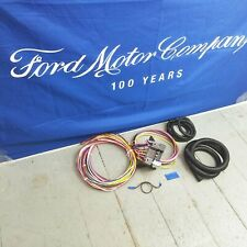 Wire Harness Fuse Block Upgrade Kit for Ford 2 Door rat rod street rod hot rod