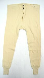 Swedish Army Long Johns Thermals Thermal Bottoms Thick Cold Weather Underwear