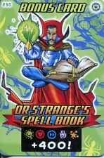 Spiderman Heroes And Villains Card #250 Dr. Stranges Spell Book